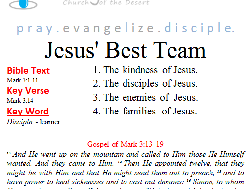 Jesus' best team