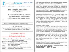 4-1-15 Daniel's Vission of Christ
