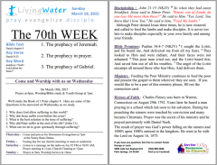 03-15-15 The 70th WEEK