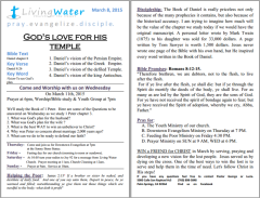 4-5-15 He is risen notes